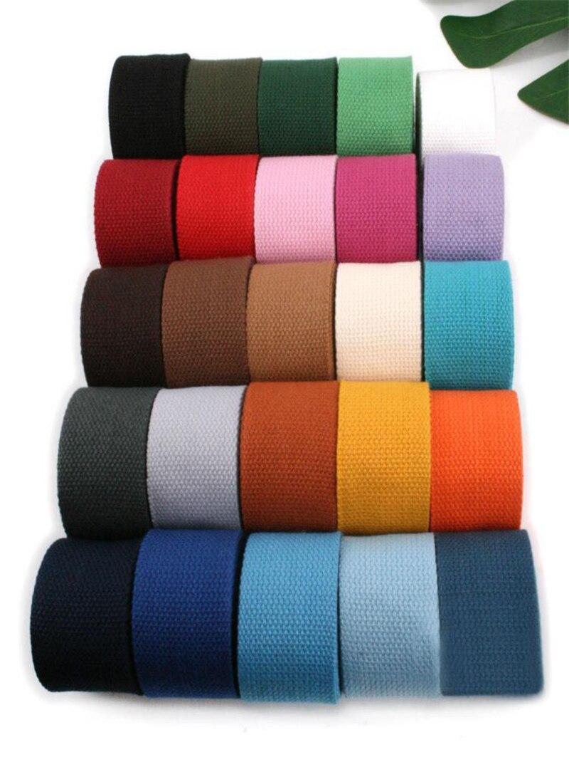 DIY Canvas Cotton Bag Shoulder strap//belting Craft 38mm Spun Polyester Webbing
