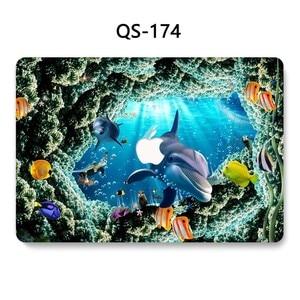 Image 2 - ラップトップのためのノー MacBook 13.3 15.4 インチケース Macbook Air Pro の網膜 11 12 スクリーンプロテクターキーボード入り江