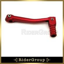 11 мм Складной Алюминиевый Рычаг переключения передач для китайских 50cc 70cc 90cc 110cc 125cc 140cc 150cc 160cc велосипед грязи SSR XR50