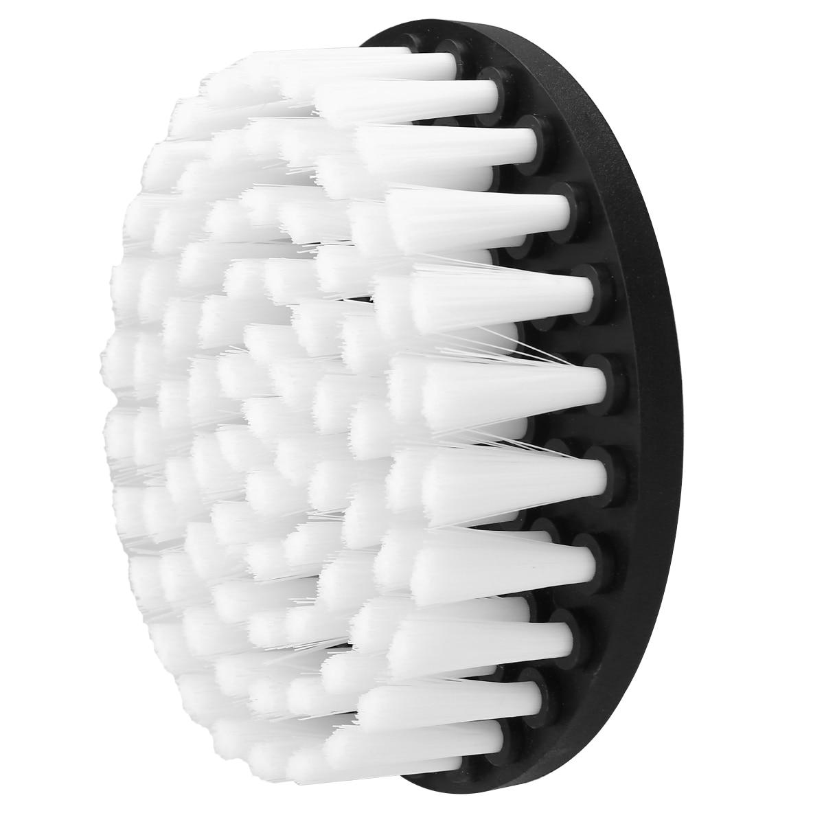 """רהיטים מכירה חמה 1pc 5"""" תרגיל מופעל מברשת הראש לניקוי רכב שטיח אמבט ספת עץ לבן בד רהיטים (4)"""
