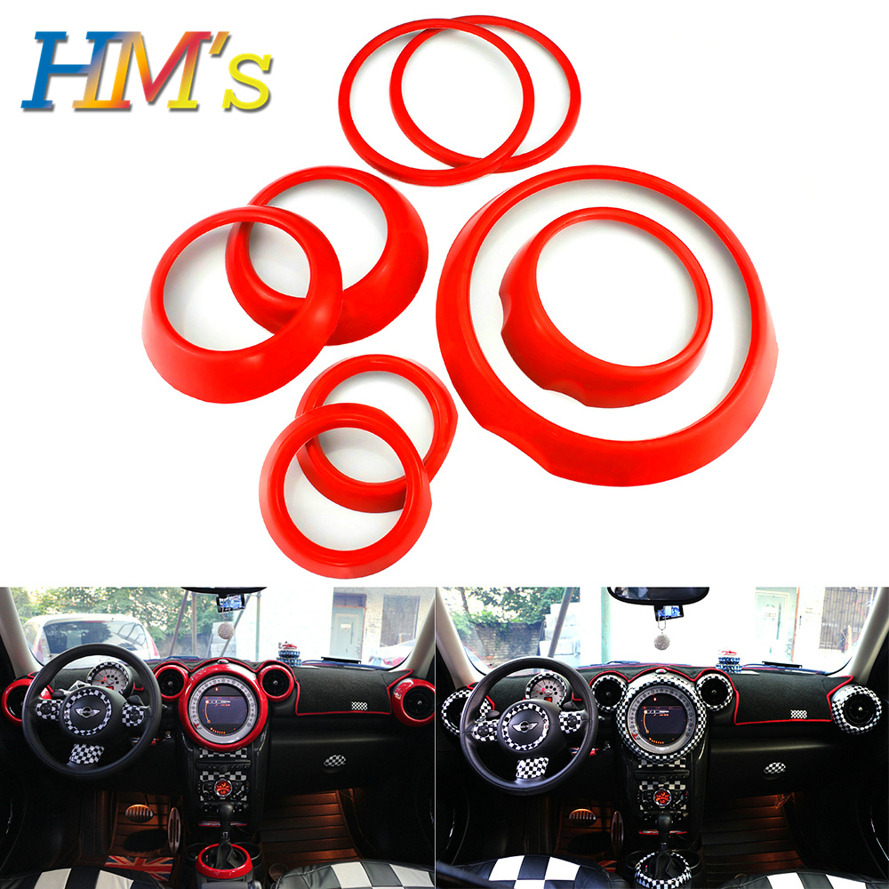 For MINI Countryman R60 Car Styling Interior Decals Stickers Kit For MINI Cooper R60 Accessories For