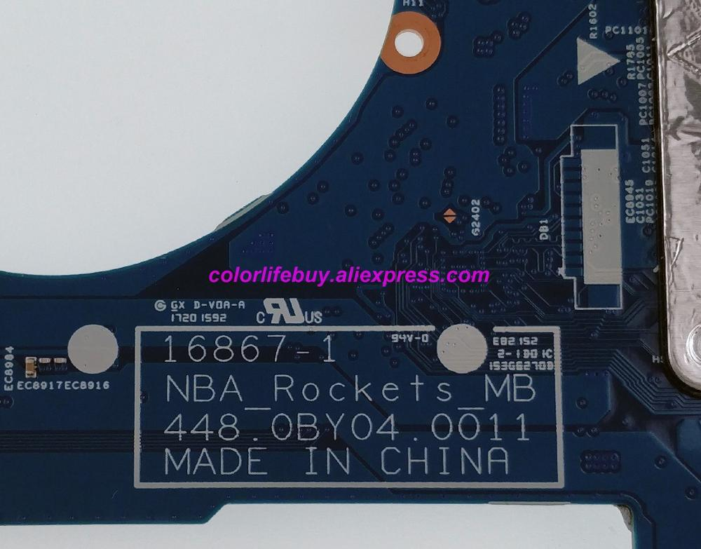 Image 5 - Genuine 924315 601 924315 001 448.0BY04.0011 FX 9800P Laptop Motherboard for HP 15 BQ008CA 15 BQ051NR 15 BQ075NR 15M BQ021DX PC-in Laptop Motherboard from Computer & Office