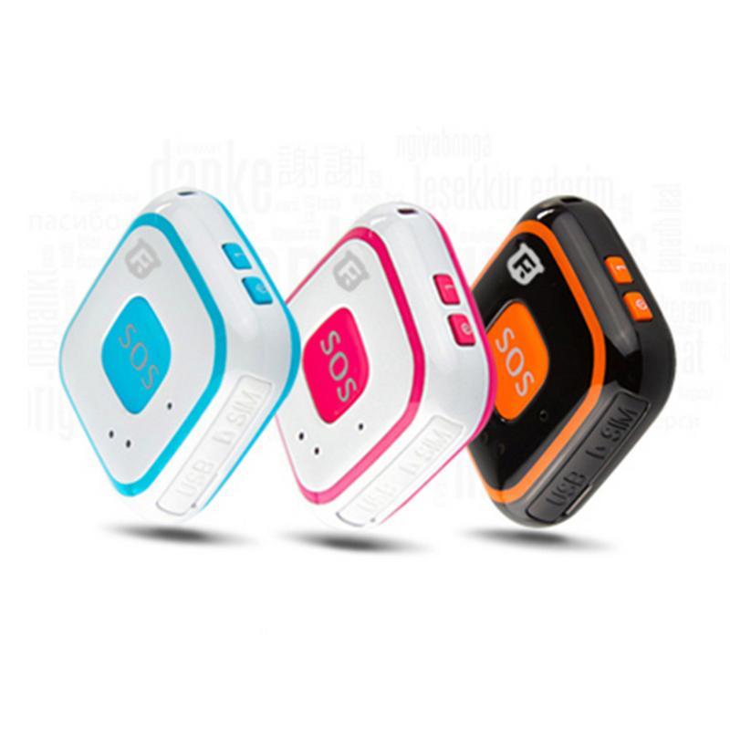 RF-V28 Mini les personnes âgées et les enfants qui tombent alarme SOS antenne intégrée Micro enfants localisateur enfant Tracker livraison directe