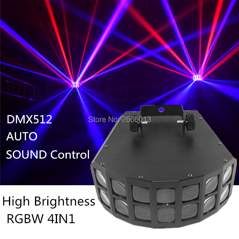 50W LED Butterfly Stage Light DMX512 RGBW Beam Effect LED Stage Light Disco Party DJ Projector Light KTV LED Decoration Lighting50W LED Butterfly Stage Light DMX512 RGBW Beam Effect LED Stage Light Disco Party DJ Projector Light KTV LED Decoration Lighting