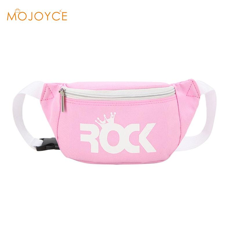 Children Baby Girl Waist Packs Kid Fanny Bag Fashion Solid Color Chest Bag Fanny Chest Bags Boys Girls Baby Money Belt Bag