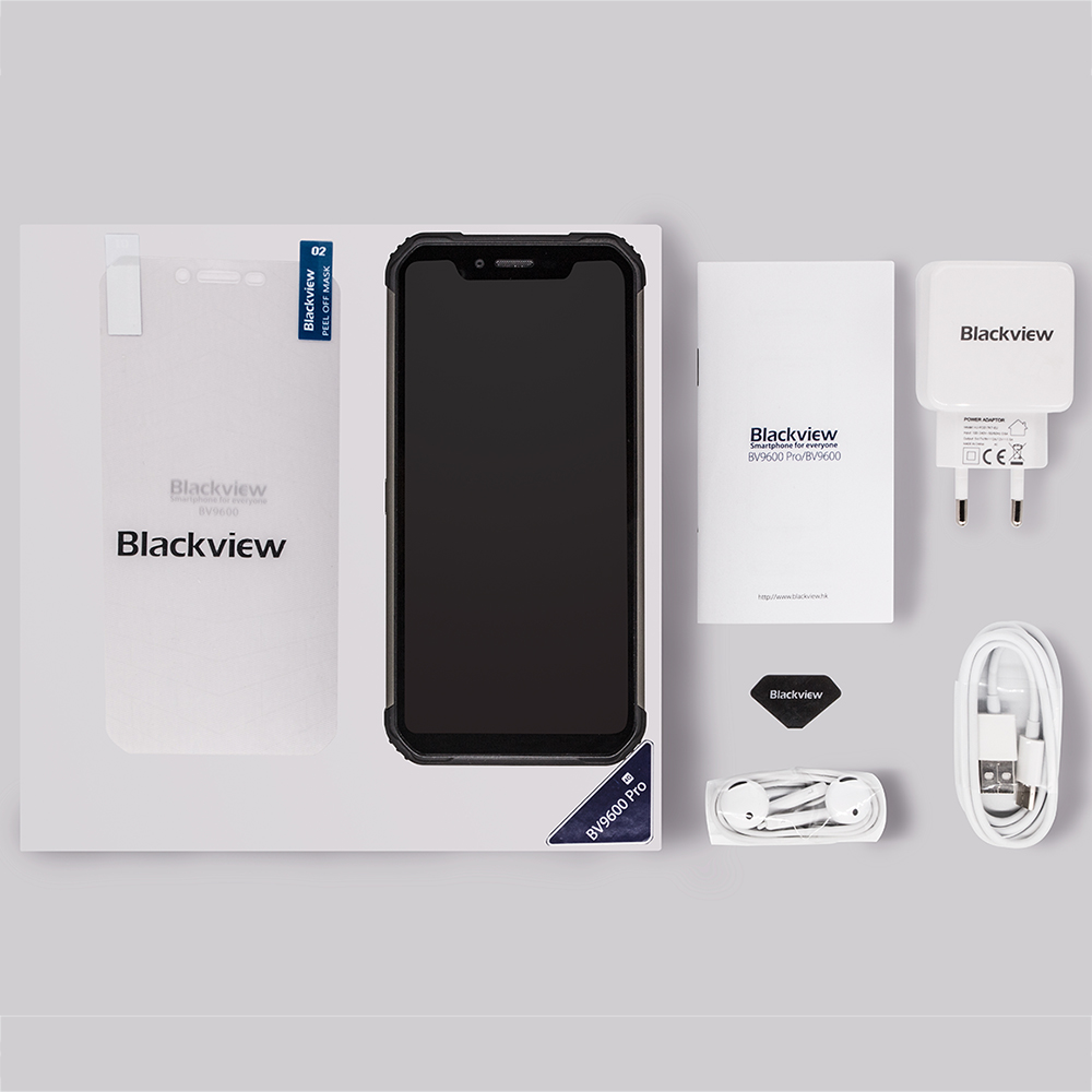 Смартфон BLACKVIEW BV9600 Pro IP68 6 ГБ + 128 Гб 16MP Face ID 6,21 дюйма FHD + Беспроводная зарядка NFC 4G Android 8,1 GPS мобильный телефон - 6