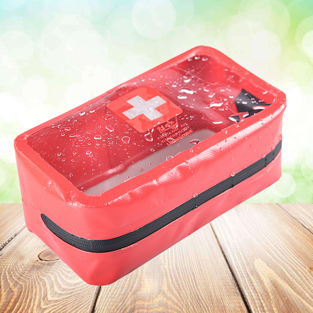 Back To Search Resultssports & Entertainment Small Medical Bags Portable Camping Transparent Waterproof Survival Medical Storage Bag First Aid Kit 17x7x12cm Hiking Supplies Camping & Hiking