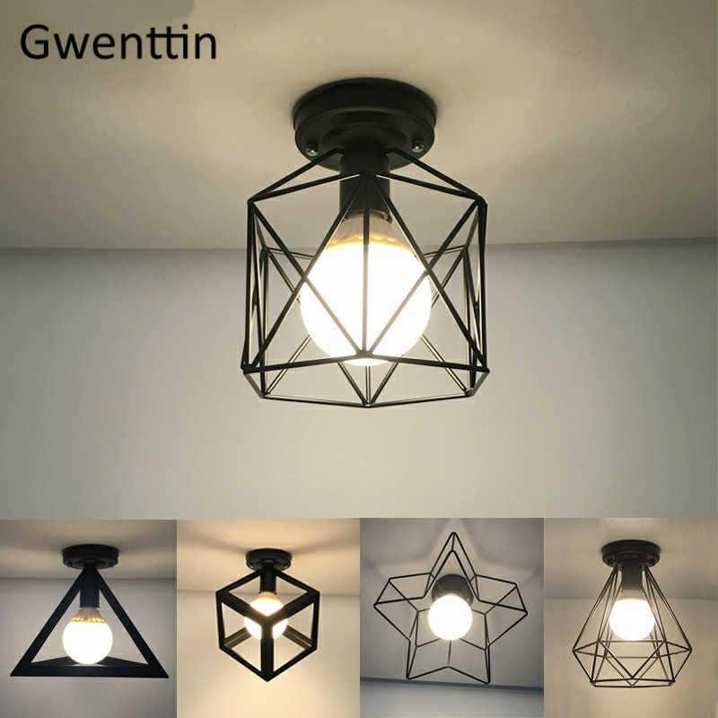 Nordic Iron LED Ceiling Lights Modern Ceiling Lamp for Bedroom Corridor Loft Industrial Home Decor Lighting Fixtures Luminaire