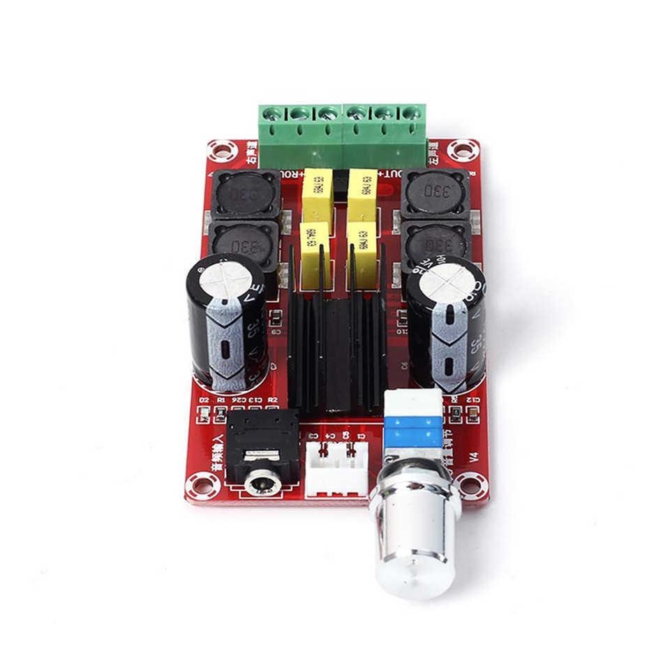XH-M189 דיגיטלי מגבר כוח לוח TPA3116 DC24V כפולה ערוץ מגברי AMP סטריאו TPA3116D2 2X50W גבוה סוף D2 אודיו Amplificator