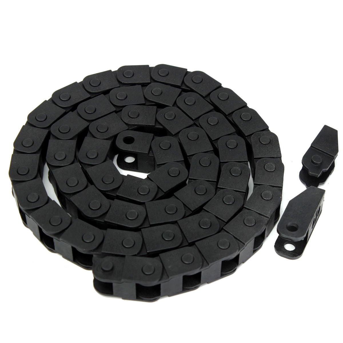 """40/"""" Cable drag chain wire carrier R18 10*10mm 1pcs 1000mm"""