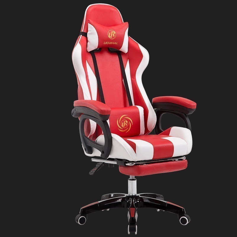 Maison ordinateur siège ménage travail bureau meubles Internet LOL course temps jeu compétition gaming chaise cuir synthétique