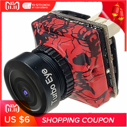 FPV Camera CADDX Turbo Unique Pattern Design Micro SDR2 PLUS 1200TVL Low Latency Small CAM For RC Drone