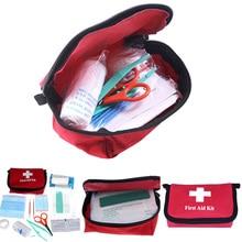 11 шт./компл. аптечка Аварийная сумка для выживания Мини Семейные спортивные походные дорожные комплекты домашняя медицинская сумка Уличная Автомобильная сумка