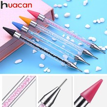 HUACAN Diamond Painting Pen Accessories Rhinestones Mosaic Pictures Double Head Embroidery Point Drill
