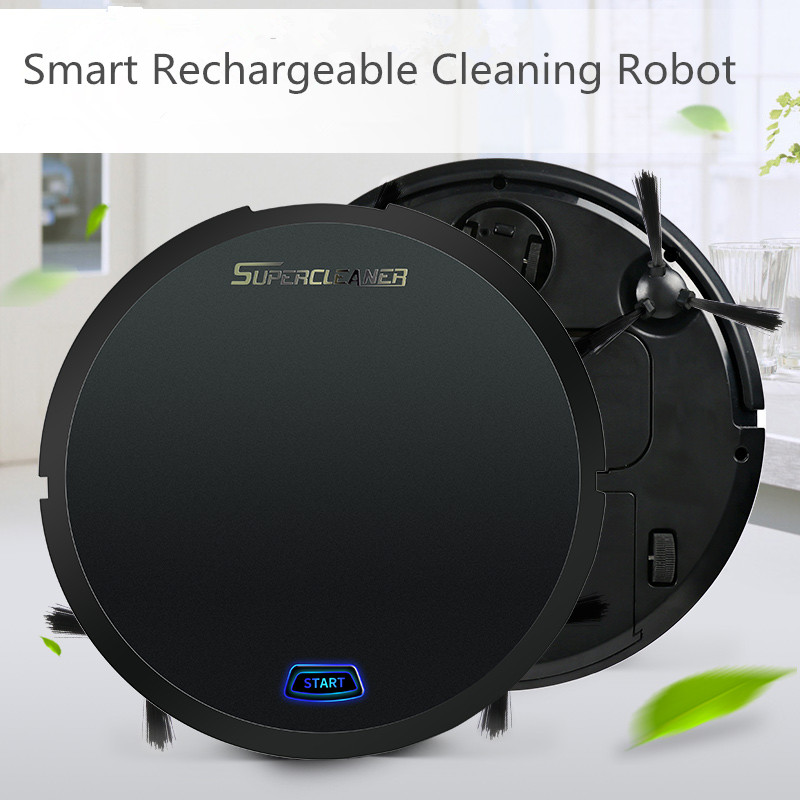 Usb Rechargeable Auto Cleaning Robot Smart Sweeping Robot
