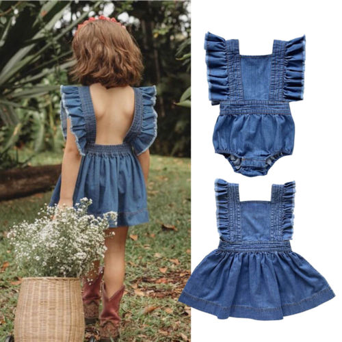 big-little-sister-famliy-matching-outfit-newborn-toddler-kids-baby-girl-romper-dress-cotton-sleeveless-outfit
