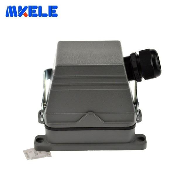 Mk he 048 1 48 Pins Rechthoekige Buchse Harting Stecker Meerdere 1 24pin En 25 48pin Heavy Duty Stecker