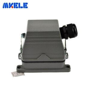 Image 1 - Mk he 048 1 48 Pins Rechthoekige Socket Harting Connector Meerdere 1 24pin En 25 48pin Heavy Duty Connector