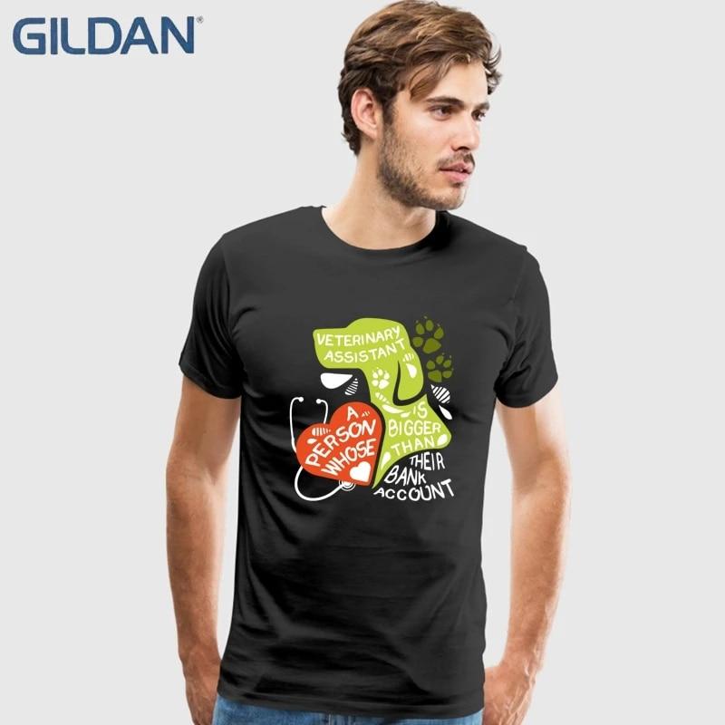 Custom Logo Veterinary T-Shirts