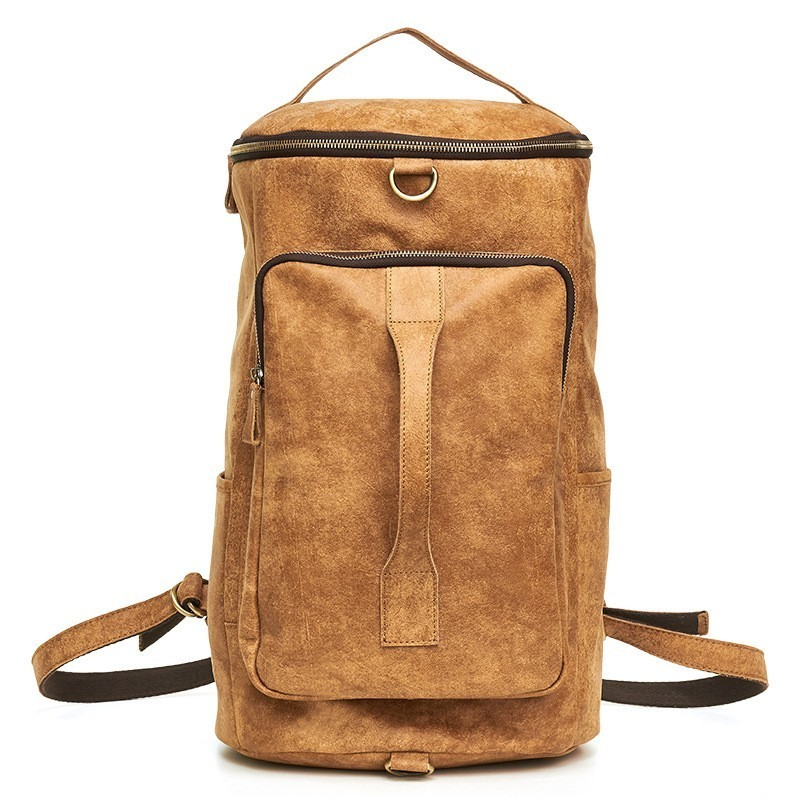 Brown Leder Gepäck Tasche Sac Koffer Pattern Litchi Reisetaschen 6357 Männer Mann Echtes Hand Große Bagpack Scrub Für Kapazität Retro Und Black w81R5q