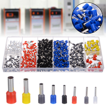 685pcs/kit Wire End Ferrule Assortment Insulated 0.5-10mm² Sleeve Cable Lugs Electrical Crimp Terminator