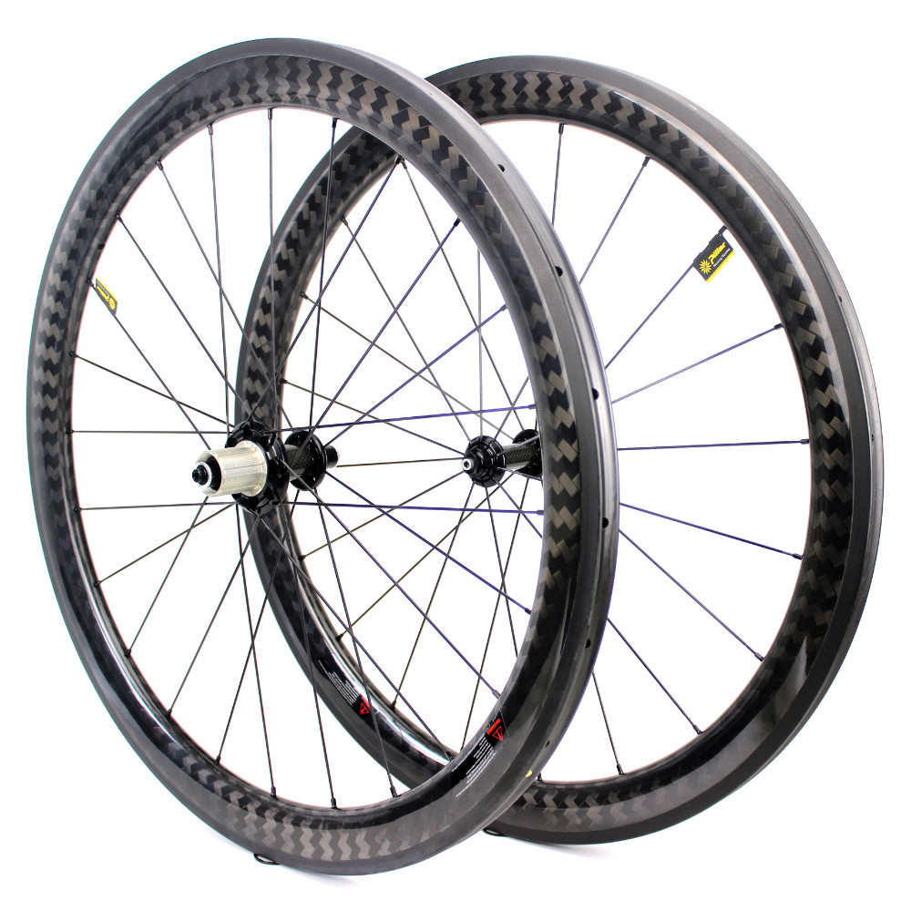 700c Carbon Road Bike Wheel 50mm Wider Aero Rim Tubeless Ready Powerway R51 Straight Pull Hub Super Light Road Bicycle Wheelset700c Carbon Road Bike Wheel 50mm Wider Aero Rim Tubeless Ready Powerway R51 Straight Pull Hub Super Light Road Bicycle Wheelset