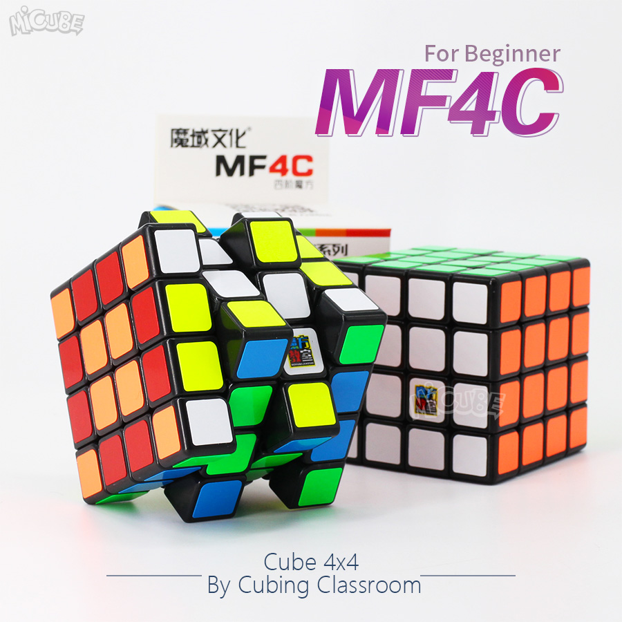 MofangJiaoshi  MF4C 4x4 Magic Cube Speed Puzzle 62mm Cubo Magico 2x2 MF2C MF3 3x3 Toys For Children  Strickerless 4x4x4