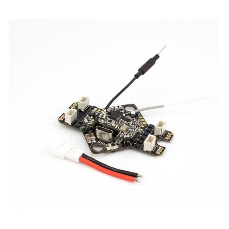 AIO F4 contrôleur de vol VTX récepteur MATEKF411 pour Emax Tinyhawk Support 08025 moteur sans brosse OSD HV 450 mah Lipo 4in1 3A ESC