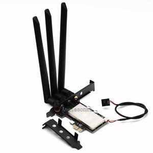 Image 2 - BCM94360CSAX /BCM943602CS / BCM94331csax WLAN Card To PCI e 1x 16x Desktop PC WIFI WLAN Card Adapter()
