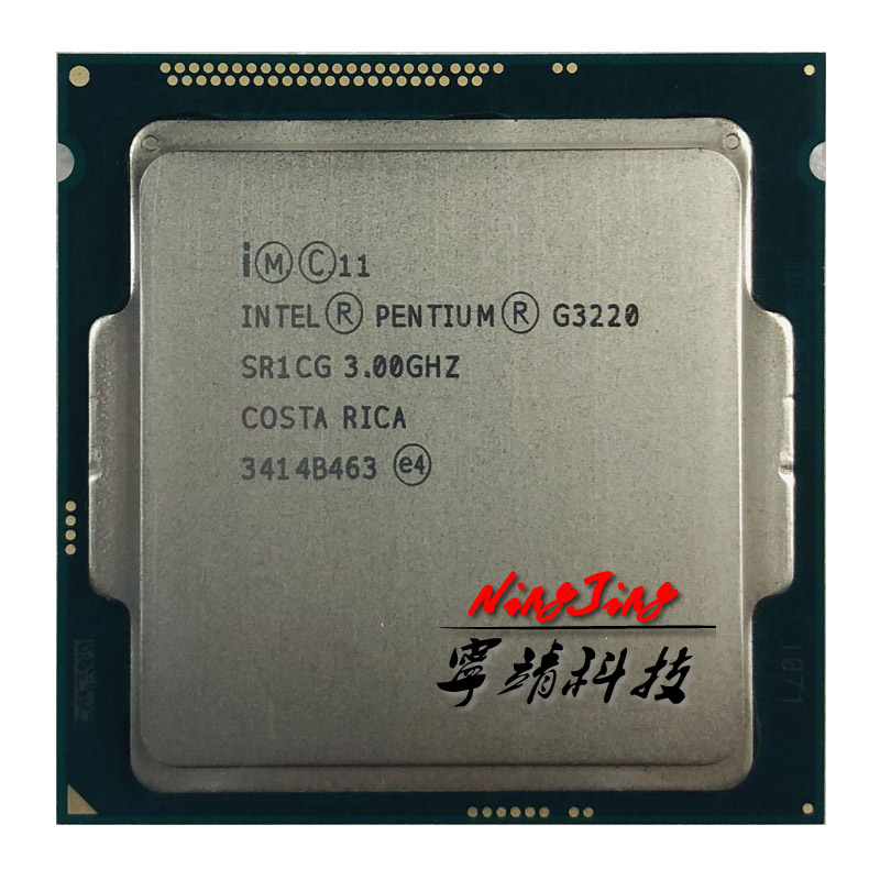 Intel Pentium G3220 3 0 GHz Dual Core CPU Processor 3M 53W LGA 1150