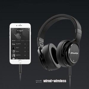 Image 5 - Original AWEI A950BL casque bluetooth ANC réduction du bruit casque sans fil bluetooth casque avec Microphone mains libres