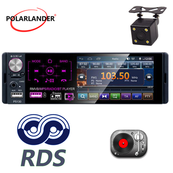 1 din support Micophone Car Receiver 4.1″Touch screen Bluetooth RMVB/MP5/Radio/BT Player AM FM Radio RDS