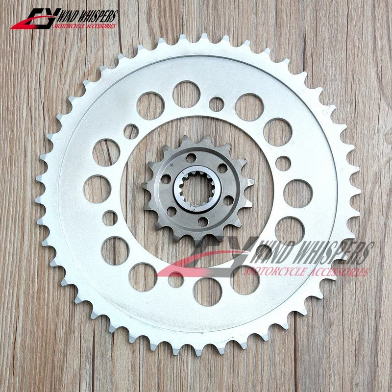 Motorcycle Front Rear Sprockets For Yamaha YZF R6 YZF-R6 YZF600 2006-2018 (525) 45T / 15T