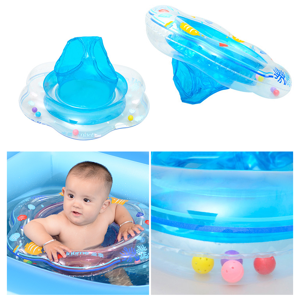 Baby Swimming Ring Inflatable Infant Armpit Floating Kids Pool Floaties Accessories Circle Bathing Swimtrainer Double Rings Toy in Accessories from Mother Kids
