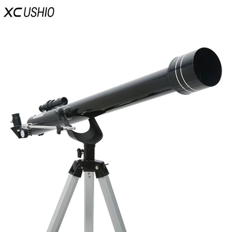 Top Quality Astronomical Telescope with Tripod F90060 Outdoor Refractor Space Monocular Zooming Telescope for Astronomy Lovers-in Monocular/Binoculars from Sports & Entertainment    1