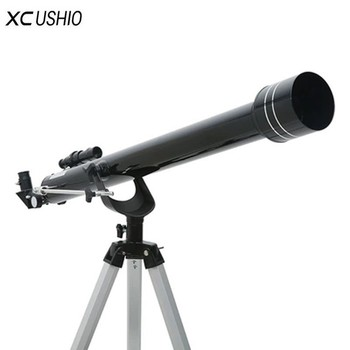 Top Quality Astronomical Telescope with Tripod F90060 Outdoor Refractor Space Monocular Zooming Telescope for Astronomy Lovers