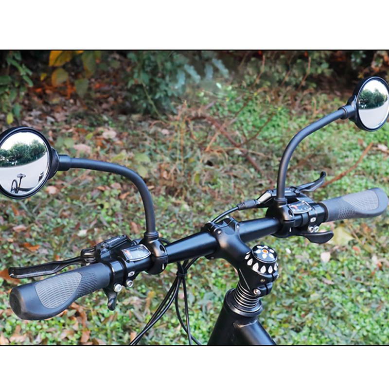 Bicycle Rearview Mirror Handlebar Safety Motorcycle Cycling Rear View Adjustable 360 degrees Bicycle AccessoriesBicycle Rearview Mirror Handlebar Safety Motorcycle Cycling Rear View Adjustable 360 degrees Bicycle Accessories