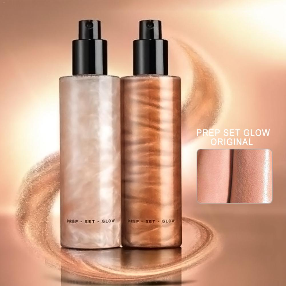 Bronzer Highlighter Liquid Setting Spray Illuminating Face Shimmer Long-lasting Brighten Glow Face Glow Highlighter Makeup FaceBronzer Highlighter Liquid Setting Spray Illuminating Face Shimmer Long-lasting Brighten Glow Face Glow Highlighter Makeup Face