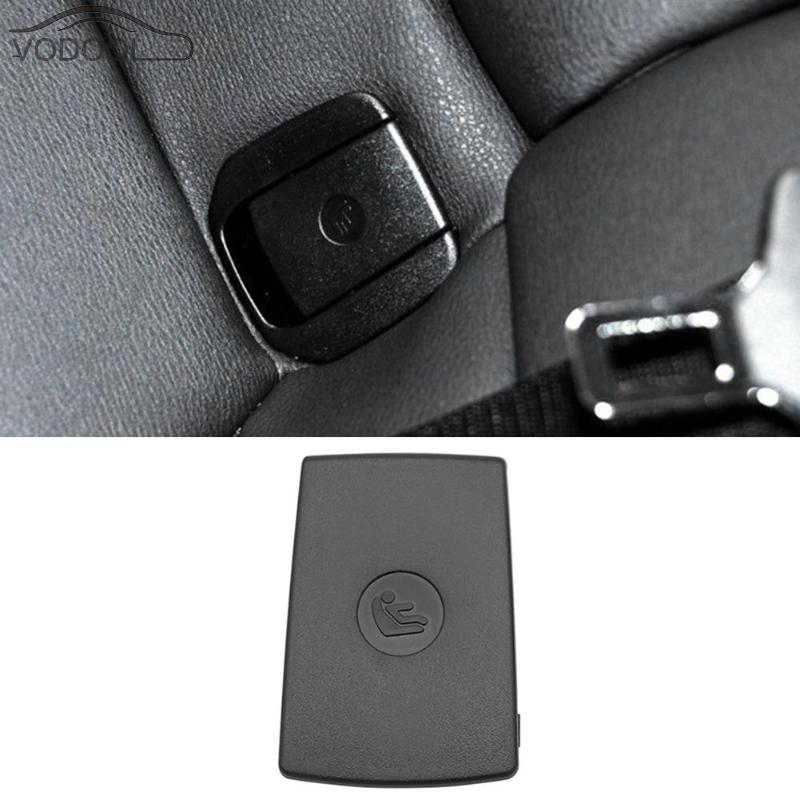 Auto Car Safety Seat Buckle Cover ABS Car Rear Seat Hook Cover Child Restraint For X1 E84 3 Series E90/F30 1 Series E87