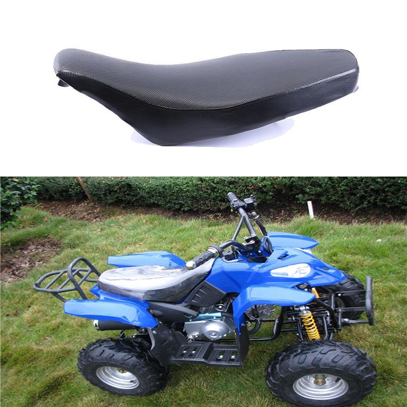 ATV Foam Seat For 50 70 90 110cc Racing Style Quad Dirt Bike ATV 4-Wheeler Black