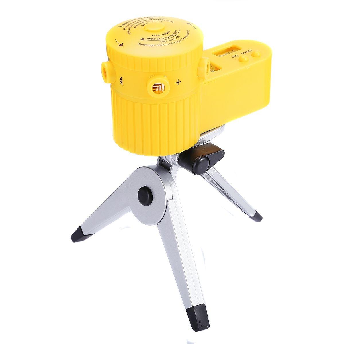 Multifunctional LED Laser Leveler Vertikal Horizontal Cross Line Tool Laser with Tripod