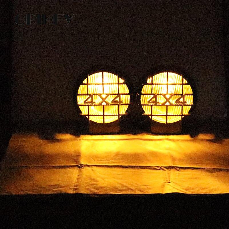 4 Pcs Eagle Eye CREE LED Car SUV Counterattack Reverse Lights Strobe Lamps Blue