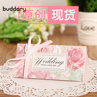 Buddery 50pcs/lot Triangular Pyramid Gift Box Wedding Favors And Gifts Candy Box Wedding Gifts For Guests Wedding Decoration