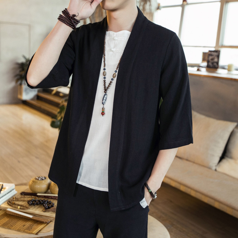 Loose Summer Men Casual Shirt