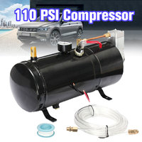 110 PSI 24V Compressor Electric Air Compressor with 3 liters Tank Capacity for Air Horn Train Truck Auto Bicycles Tire H004 B1
