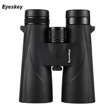 цена на Eyeskey 10x50 Waterproof Binoculars Professional Telescope Bak4 Prism Optics Camping Hunting Scopes High Power Binoculars #WP600