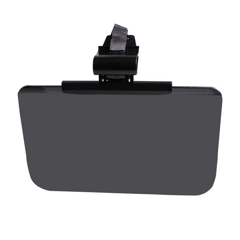 Car Wide Perspective Visor Anti-glare Mirror SUV Anti-Glare Eyepiece Business Auto Goggles Black Anti-UV Rotatable Supplies
