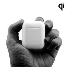 Для Apple Airpods беспроводной зарядный приемник чехол QI Стандартный замена 1:1 оригинальный Airpods беспроводной приемник Беспроводное зарядное устройство