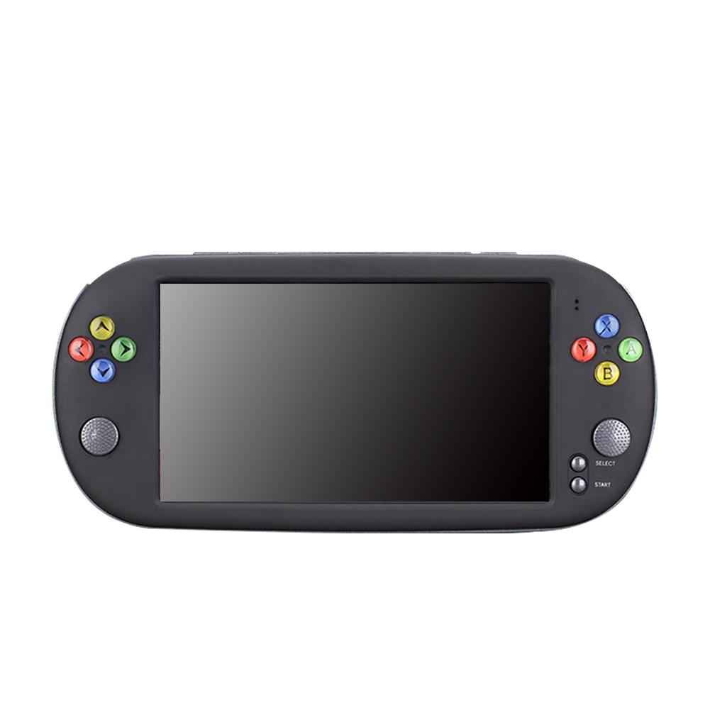 For PSP X16 8G 16G Handheld Game Console Large Screen 7 inch HD 1800MAH Support TF 32G NES Nostalgic FC Handheld GBA Arcade Game