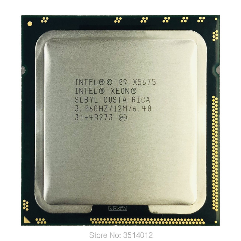 Intel Xeon X5675 3 0 GHz Six Core Twelve Thread CPU Processor 12M 95W LGA 1366